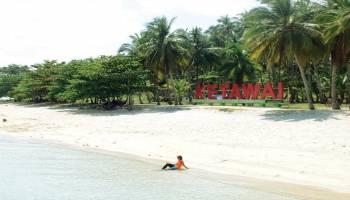 Ayo Bersantai di Pulau Ketawai
