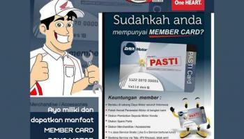 Ayo Gunakan Member Card Daya Motor, Banyak Manfaat dan Keuntungannya
