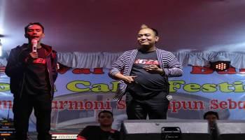 Azis Gagap Kocok Perut Pengunjung Moon Cake Festival di Puri Tri Agung