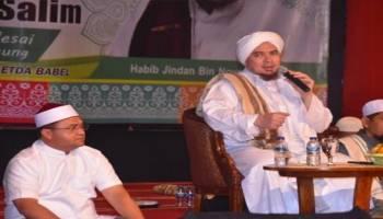Babel Bersholawat Undang Habib Jindan, Simak Pesan Habib Untuk Masyarakat Bangka Belitung