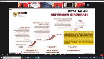 Babel Dukung Reformasi Birokrasi Menuju Pemerintahan yang Bersih