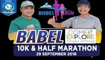 Babel Run 2018 Ditunda 20 Hari, Alasannya Agar Atlet Asian Games Bisa Ikut