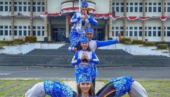 Babel Tampilkan Bedincak Di Acara Puncak Festival Kampung Dongeng Nasional