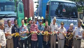 Badan Karantina Kelas ll Pangkalpinang Lepas Ekspor 760 Ton Karet ke China