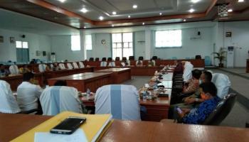 Bahas Kabupaten Layak Anak, DPRD Belitung Belajar ke DPRD Bangka