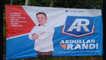 Baliho Bang AR Mulai Disebar, Warga Tanya Serius Mau Ikut Pilkada Bangka Tengah?