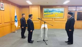 Bang Udin Resmi Jadi Direktur Utama BUMD PT BBBS