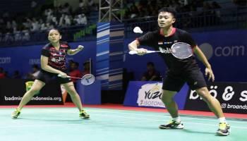 Bangka Belitung Indonesia Masters 2018: Akbar/Winny Terhenti di Babak Pertama