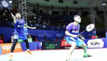Bangka Belitung Indonesia Masters 2018: Frengky/Rian Tundukkan Unggulan Satu Thailand