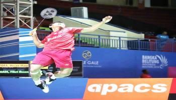 Bangka Belitung Indonesia Masters 2018:  Kurang Enjoy, Ihsan Dipaksa Main Rubber Games