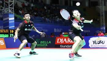 Bangka Belitung Indonesia Masters 2018:  Pramudya/Ribka Pulangkan Pasangan Unggulan