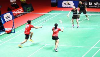 Bangka Belitung Indonesia Masters 2018: Ramadiansyah/Romadhini Gagal ke Final
