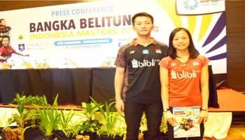 Bangka Belitung Indonesia Master 2018, Jadi Unggulan Ihsan dan Fitriani siap Tampilkan Permainan Terbaik