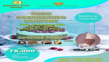 Bangka City Hotel Gelar Lomba Menghias Kue