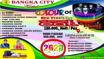 Bangka City Hotel Meriahkan Tahun Baru dengan Colour Of New Year's Eve