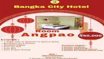 """Sambut Imlek, Bangka City Hotel Tawarkan Paket """"Room Angpao"""""""
