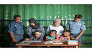 Bangun Rumah layak Huni Hingga Toilet, Masyarakat Tanjung Gunung Apresiasi PT. Timah