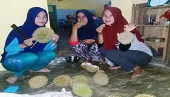 Banjir Durian Adanya di Kota Ini, Raja Buah Kota Kapur Memang Mantap!