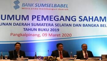 Bank Sumsel Babel RUPS, Babel Kecipratan Rp 4 Miliar
