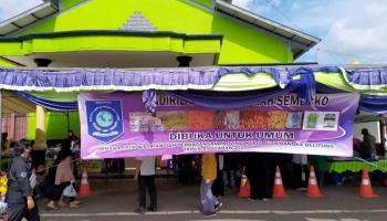 Bantu Masyarakat Terdampak Covid-19, Pemprov Babel Gelar Pasar Murah di Kecamatan Kelapa