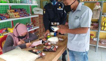 Bantu Masyarakat Terdampak Covid-19, PT Timah Belanja Sembako di BumDes