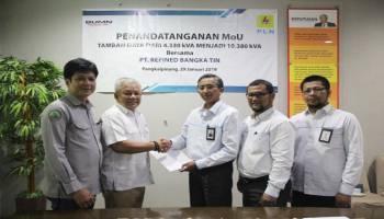 Bantu Proses Produksi, PLN Tambah Daya 6 Juta VA untuk PT RBT