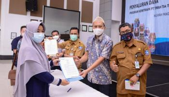 Bantu UMKM di Tengah Pandemi, Tahun Ini PT Timah Kembali Gelontorkan Dana Bergulir Program Kemitraan