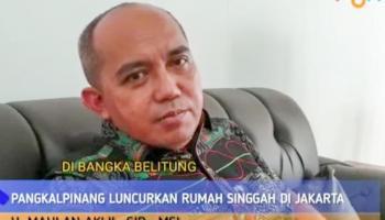 Bantu Warga Jalani Pengobatan, Pemkot Pangkalpinang Resmikan Rumah Singgah di Jakarta