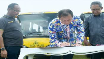 Bantuan 11 Bus Sekolah Beroperasi Agustus 2018