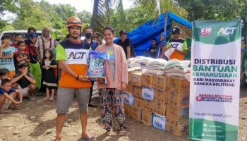 Bantuan Kemanusiaan Masyarakat Babel Telah Didistribusikan kepada Korban Gempa Sulbar