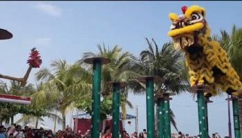 Barongsai Meriahkan Spring Festival