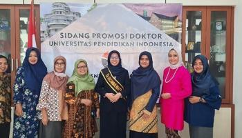 Baru Berusia 28 Tahun, Dosen Universitas Muhammadiyah Babel Ikut Sidang Terbuka Promosi Doktor