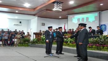 Baru Dilantik Jadi Ketua Dewan Semenrara, Jumadi Berpesan Jangan Gadaikan SK