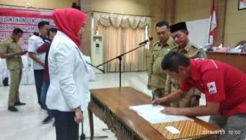 Baru Dilantik, Pengurus PMI Kabupaten Bangka Harus Siap Turun Kelapangan