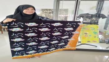 Batik Tulis Bangka Semakin Dikenal