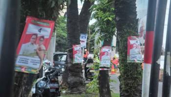 Bawaslu Kota Pangkalpinang Surati Parpol, Minta Para Caleg Stop Pasang APK Melanggar Aturan