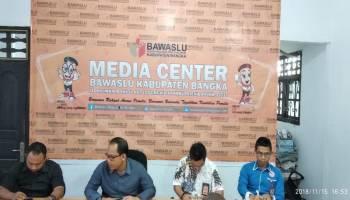 Bawaslu Rakor Pemilu 2018 Bersama Wartawan