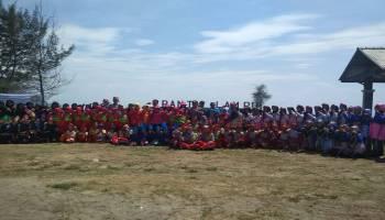 Bedincak Jadi Rangkaian Acara HUT PGRI di Lepar Pongok