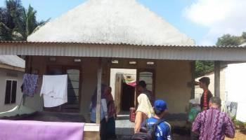 Belasan Rumah Warga Desa Celuak Rusak Diterjang Puting Beliung