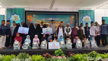Belinyu Jadi Titik ke Empat Safari Ramadhan PT. Timah Tbk