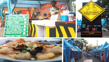 Belitong Street Food Spot Kulineran Kaki Lima Baru di Tanjung Pandan