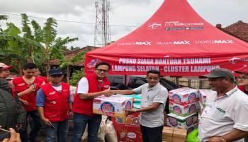 Bencana Tsunami di Selat Sunda, Jaringan Telkomsel Tetap Melayani Pelanggan di Lampung Selatan