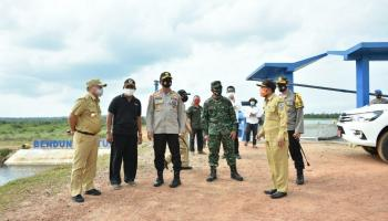 Bendungan Metukul Siap Menyambut Presiden Jokowi