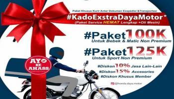 Bengkel Ahass Daya Motor Belitung Promo Kado Ekstra Daya Motor