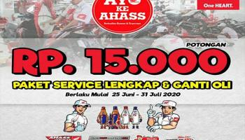 Bengkel Ahass Daya Motor Belitung Promo Potongan Service
