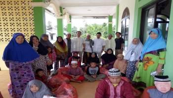Berbagi Berkah Ramadhan, Belapun Jurnalis Bangka Tengah Santuni Anak Yatim dan Warga Kurang Mampu