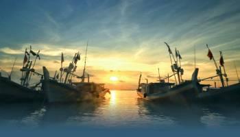 Berburu Sunset di Pantai Batu Kodok
