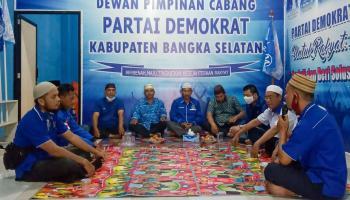 Beri Dukungan Kepada AHY, DPC Demokrat Bangka Selatan Gelar Doa Selama Tiga Hari