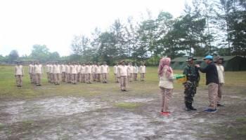 Beri Suasana Berbeda, Bawaslu Gelar Kegiatan Semi Militer