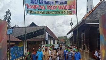 Berkat Sinergi Pemdes dan Kepolisian, Desa Airbara Jadi Kampung Tegep Mandiri